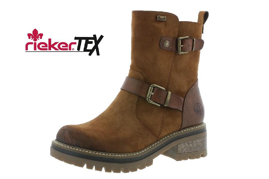 Rieker boots brun